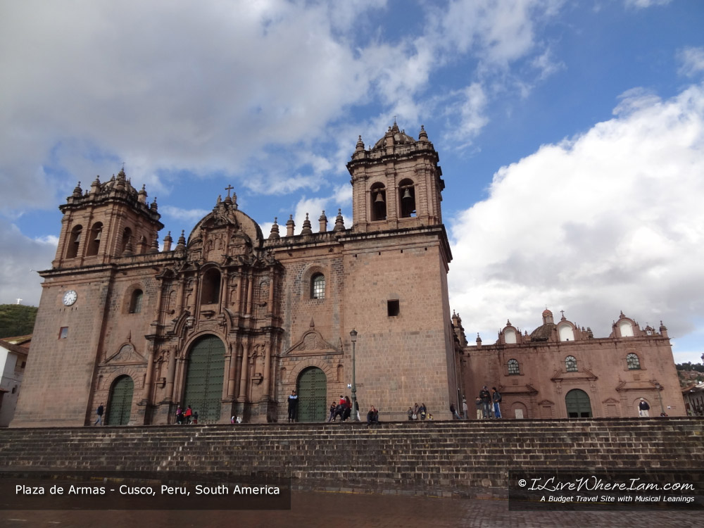Plaza de Armas - Cusco, Peru, South America