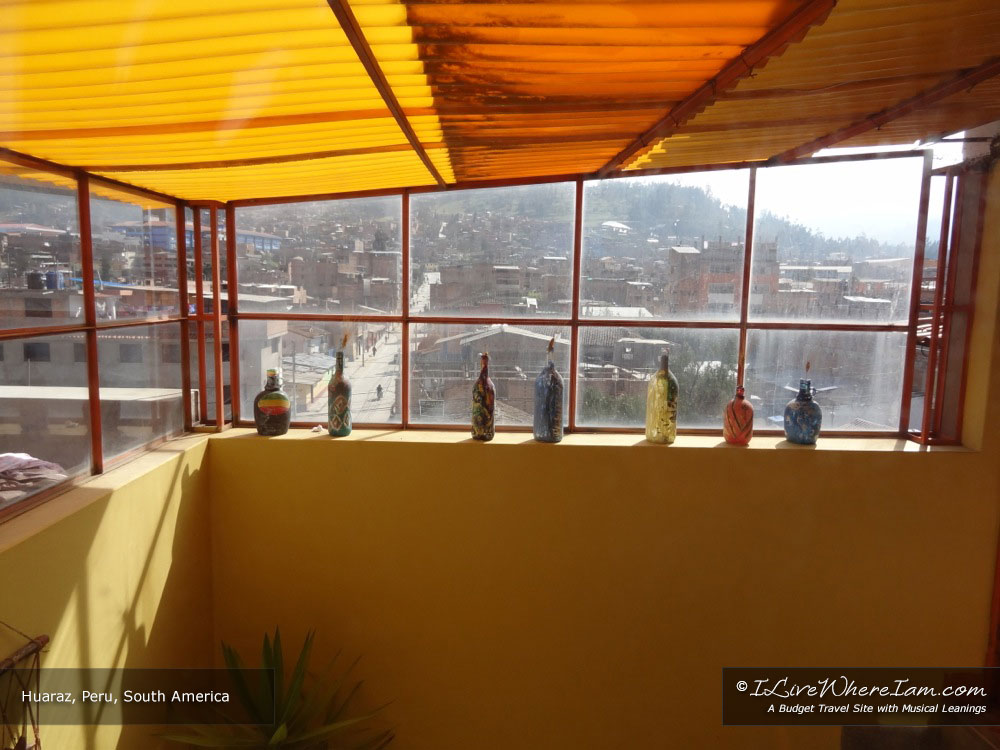 Windows in Huaraz