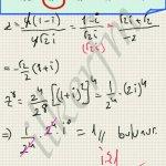 Matematik karmasik sayilarda kuvvetsorulari  ve cozumleri