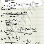 Trigonometri de Cos(x+y) cos2x ve sin2x donusumlerini bilmezsek bu soruyu cozemeyiz.