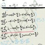 Trigonometrik türev ve modüler aritmatik karma soru çözüm