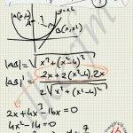 Parabolün en yakin noktasının koordinatları tespiti
