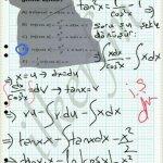 Trigonometrik integral ve kısmi dönüşümler