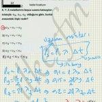 lys 2013 fizik 3. soru çözüm
