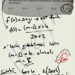 Sabit fonksiyon soru çözüm #ygs #lys matematik fem Yayınları