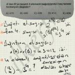 Çok kapsamlı na Bağıntı fonksiyon sorusu #ygs #lys matematik fem Yayınları
