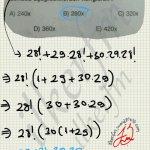 Faktoriyel işlemler soru çözüm #ygs #lys matematik fem Yayınları