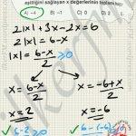 Köklü ifadenin kuvveti çift ise 0 dan büyük ya da eşit olarak kökten çıkar. #ygs #lys matematik körfez Yayınları