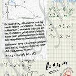 Sarkac atışlar kombin bir soru çözümü #ygs #lys fizik