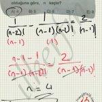 Faktoriyel Denklemler soru çözüm #ygs #lys matematik