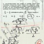 Sarkac ta harmonik hareket ve takılan çivi sorusu #ygs #lys fizik