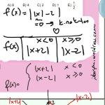 Özel tanımlı fonksiyonlarda kritik nokta grafik alan tespiti #ygs #lys matematik #ucrenk