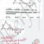 Kosinus (cos) teoremi candır #ygs #lys matematik Trigonometri fem Yayınları