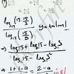 Logarotma soru çözüm karekok Yayınları #ygs #lys matematik