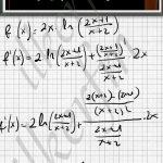 Logaritma özelliği, ln nin türevi ve Çarpmanın turevi bilinmeli ki soru cozulebilsin