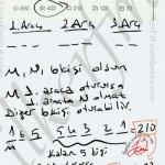 Permutasyon, araçlara belirli iki kişinin Yerleşimi #ygs #lys matematik kartezyen Yayınları