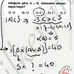 Kartezyen çarpımın eleman sayısı ve küme gösterimi