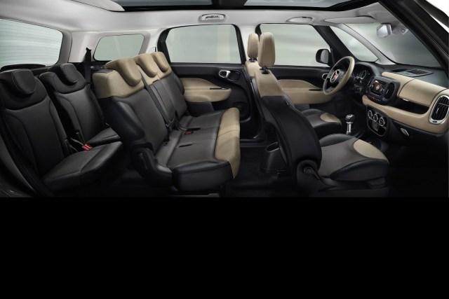Fiat 500L Living iç mekan