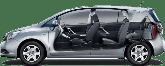 Toyota Verso 7 koltuklu araç