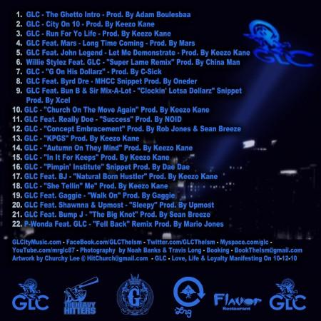 GLC — Respect My Come Up Vol. 2 Mixtape