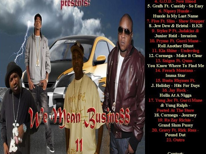 Gangstatainment Inc. Presents: We Mean Business 11