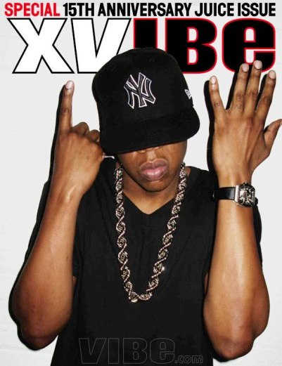 Jay Gracing The Cover Of Vibe – 15th Anniversary