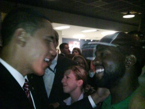 Barack Obama Meets Kanye West