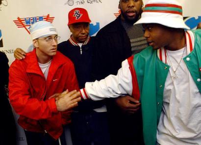 """Dr. Dre ft. Eminem & Nas """"Topless"""""""