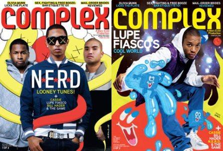 Lupe Fiasco & N.E.R.D – Complex Covers