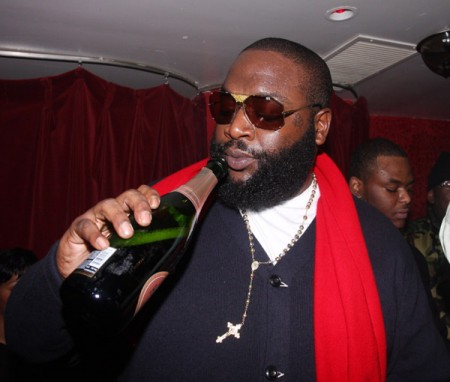 Rick Ross – Crack A Bottle Freestyle