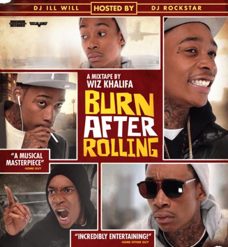 Wiz Khalifa – Burn After Rolling (Mixtape)