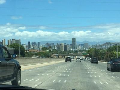 Heading towards Honolulu