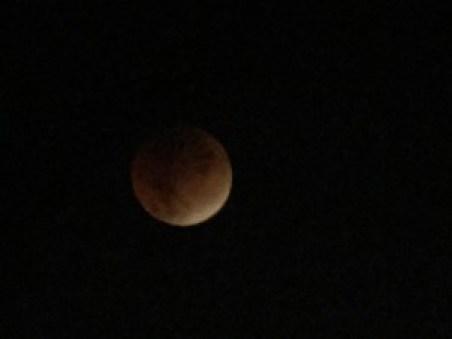 Lunar eclipse of the Super Blood Moon