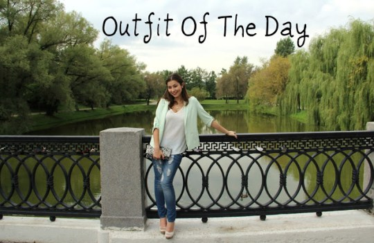 Outfit Of The Day – Moscow Casual