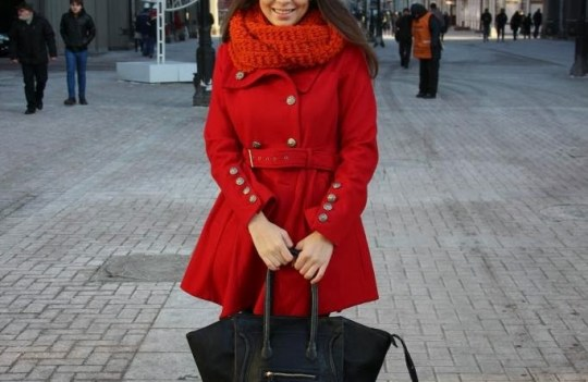 Outfit Of The Day – Russian Red