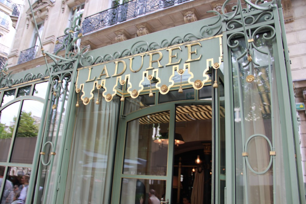Laduree on Champs Elysees