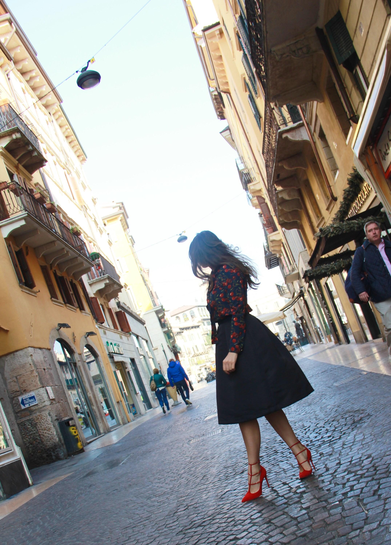 Wandering around the streets of Verona