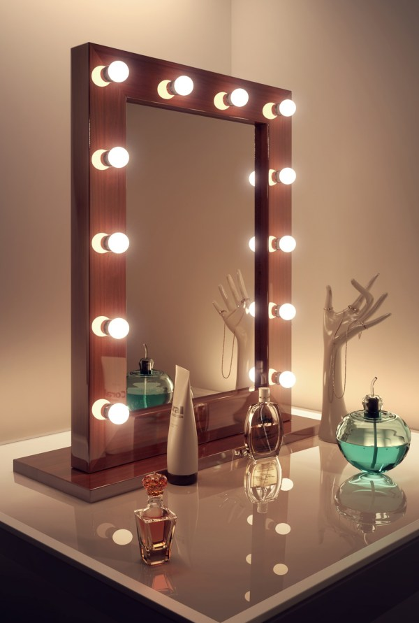 Dark Hollywood Makeup Theatre Dressing Room Mirror E94k110 ...