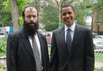 Obama and Chabad