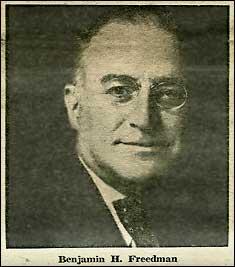 Benjamin Freedman