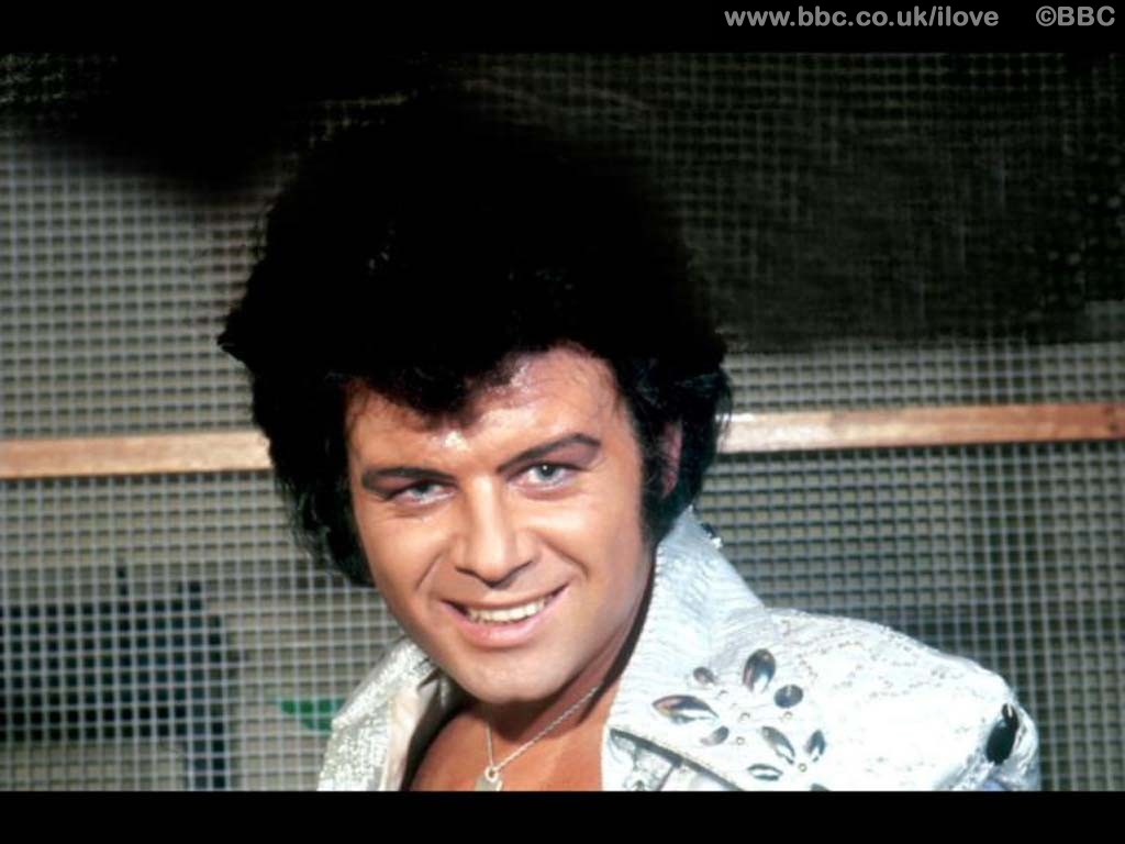 Gary Glitter in the old famous days