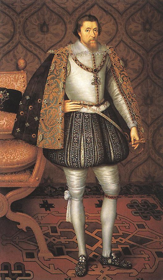 King James I of Scotland and England