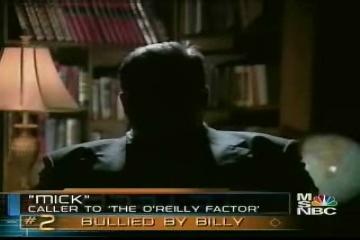 Bullied by O'Reilly