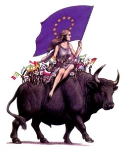 Woman Rides the Bull Beast