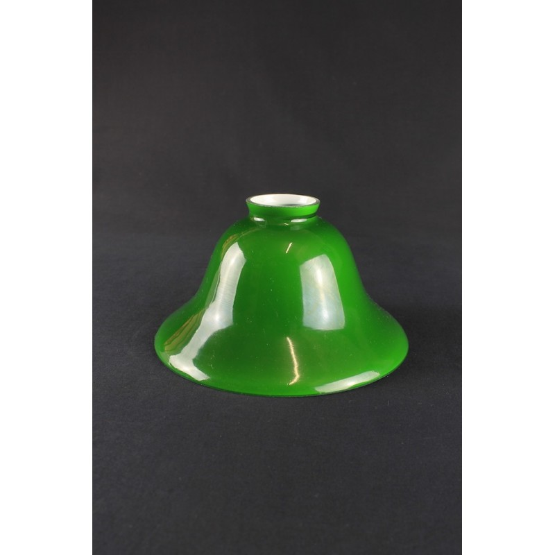 Glass Lamp Shade Replacement For Table Lamp Or Suspension Green Blue White Amber 19 22 Cm