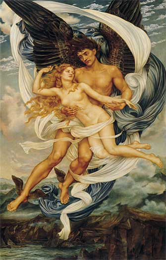 Boreas and Orietyia, Evelyn De Morgan