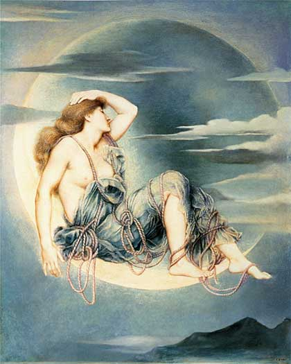 Luna, Evelyn De Morgan
