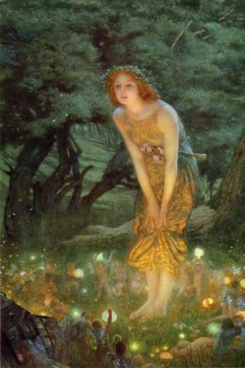 Midsummer's Eve, Edward Robert Hughes
