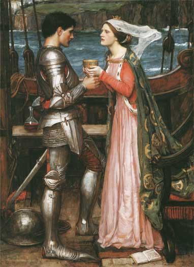Tristram & Isolde, Waterhouse