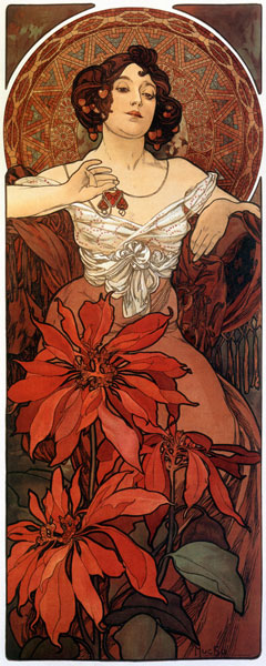 Ruby by Mucha